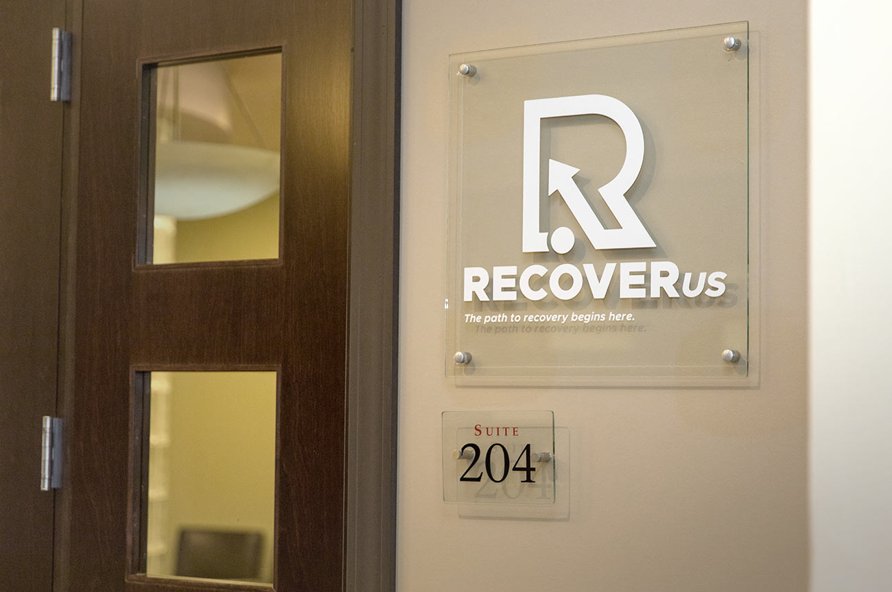 RecoverUs Facility Entrance