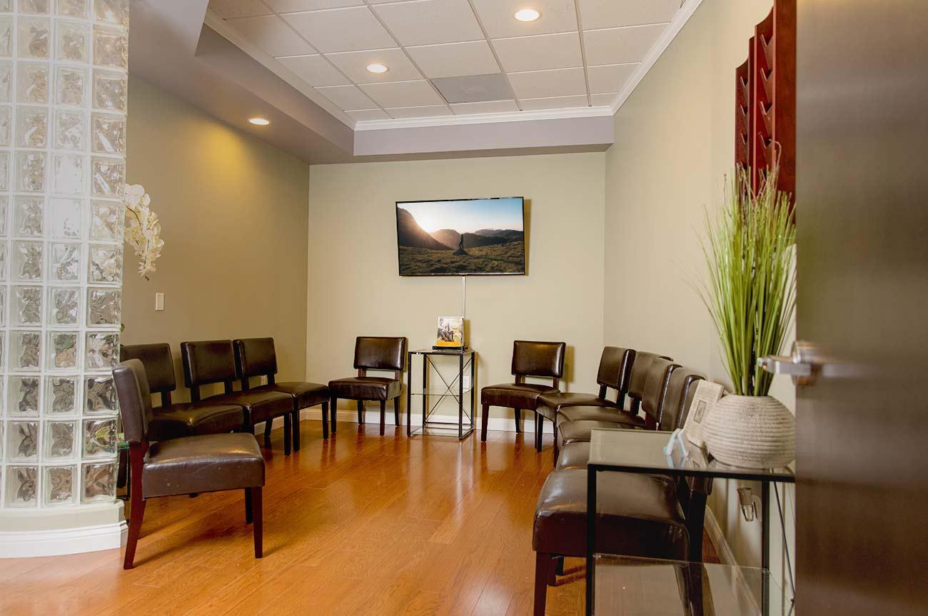 RecoverUs Facility Lobby