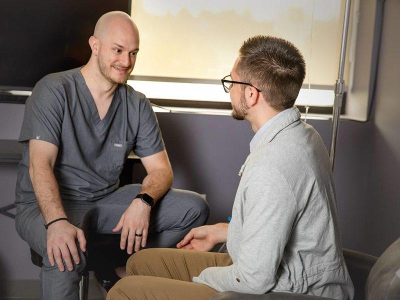 Nurse Seth and Patient